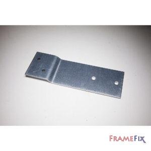 Rationel 200mm x 50mm x 3mm cranked bracket
